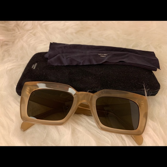 Phoebe Celine Sunglasses Philo Square Collection UVLqSMGzp